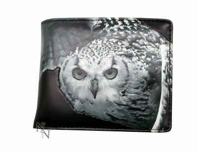 Embossed Owl Wallet By Nemesis Now And Shagwear - Faux Leather - New • 13.95£