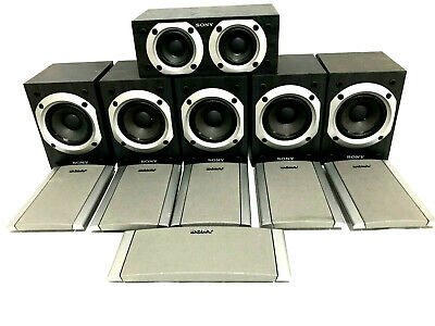 £61.78 • Buy Lot Of 6 Sony Wired Speakers 5 SS-MSP88 & 1 SS-CNP88 100W