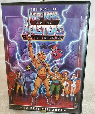$7.20 • Buy The Best Of He-man And The Masters Of The Universe ~ Dvd