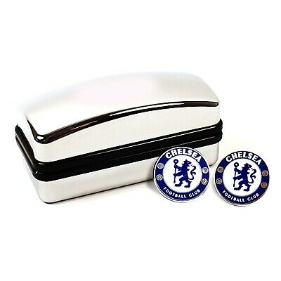 £11.99 • Buy Chelsea FC Crest Cufflinks - Official Merchandise With Hologram - Football Club