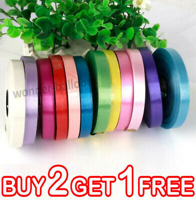 $3.51 • Buy 50 M Curling String Colour Balloon Ribbon Ballons Weight Gift Decoration Fancy
