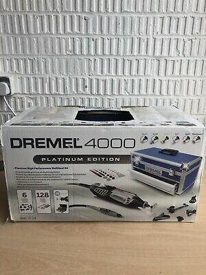 Dremel 4000 Platinum Multi Tool Kit  F0134000KF Rotary Carry Case • 120£