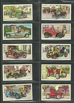 Cigarette/trade Cards Kelloggs 1962 Veteran Motor Cars - Full Set • 2.99£