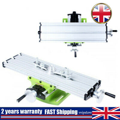 Compound Milling Machine Worktable Work Table Cross Bench Drill Press Vise UK • 19.02£