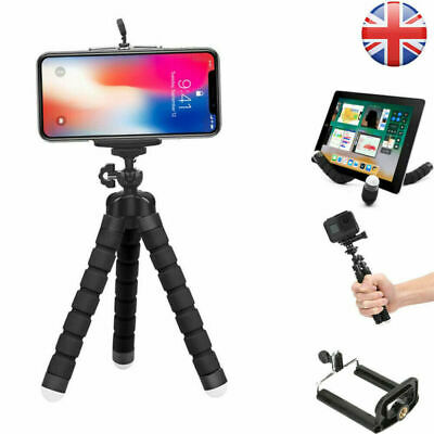 Universal Mini Mobile Phone Holder Tripod Stand Grip For IPhone Camera SamsungUK • 4.89£