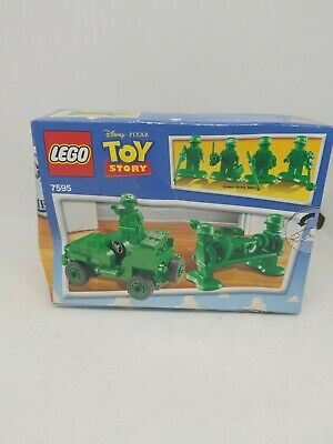 LEGO Toy Story 7595 ARMY MEN ON PATROL WITH 4 Minifigures - New & Sealed • 43.65£