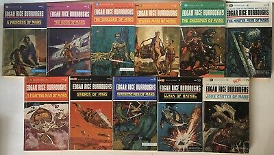 $29.99 • Buy John Carter Warlord Of Mars Complete Collection Of 11 Paperback Books