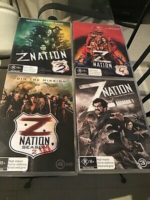 AU49.99 • Buy Z Nation COMPLETE SERIES Season 1-4 : As NEW DVD