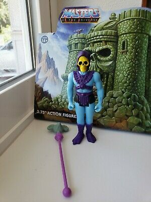 $19.99 • Buy Super7 ReAction Masters Of The Universe Figure MOTU Filmation Skeletor Blind Box