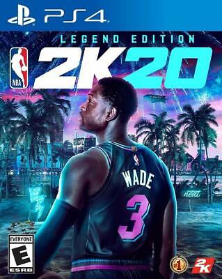 $ CDN73.14 • Buy NEW PS4 NBA 2K20 Legend Edition SEALED Video Game Sony Playstation 4 2K Sports