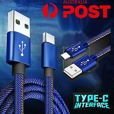 AU7.99 • Buy USB Type C Fast Charger Charging Data Cable For Samsung S10 S8 S9 Note 10 Plus 2