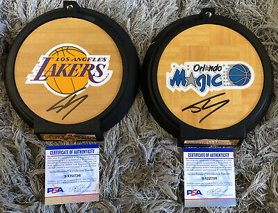 $1299.99 • Buy Shaquille O'Neal Signed Lakers Enterbay NBA 1/6 Scale Figure 2-Pack PSA/DNA COA