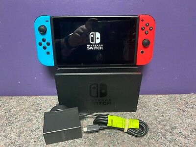 AU261.50 • Buy Nintendo Switch Neon Console Working
