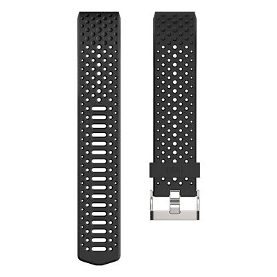 AU17.79 • Buy Fitbit Charge 2 Sports Band Large FB160SBBKL - Black