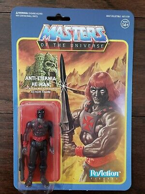 $29.99 • Buy Super7 ReAction Masters Of The Universe Figure MOTU Clear Anti-Eternia He-man
