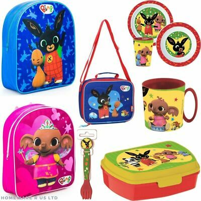 Childrens Kids Boys Girls Bing Charactor Toy Kitchen School Accesories Bags  • 6.99£
