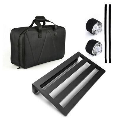 $ CDN99.99 • Buy Large Size Guitar Effect Pedal Board Aluminum Alloy Pedalboard W/Bag + 4 Tapes
