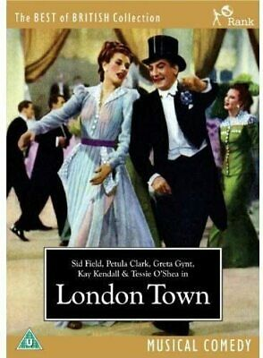 London Town DVD 40s British Musical Comedy Film Movie Sid Field Petula Clark  • 7.99£