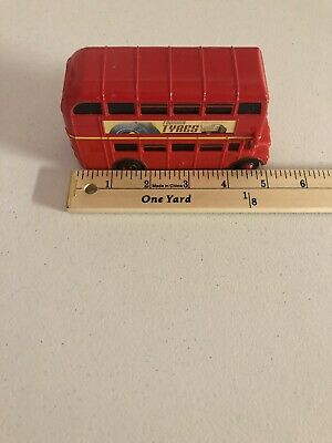 $ CDN30.30 • Buy Disney Pixar CARS Topper Deckington Double Decker UK Bus Crosshead 91