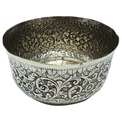 £55 • Buy Beautifully Intricate Indian Silver Dish