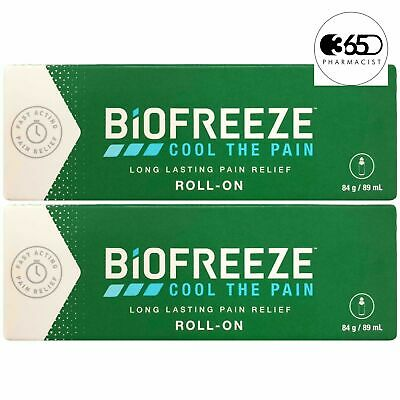 £18.86 • Buy Biofreeze Biofreeze Pain Relieving Roll 89ml - !!! VALUE 2 PACK !!!