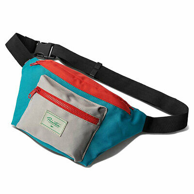 AU26.64 • Buy Primitive Men's Nuevo Waist Bag Blue Travel Accessories