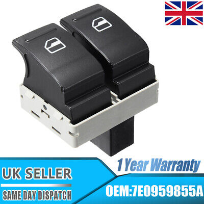 £8.69 • Buy Electric Window Double Switch Driver Side Fit VW Transporter T5 T6 Caravelle UK
