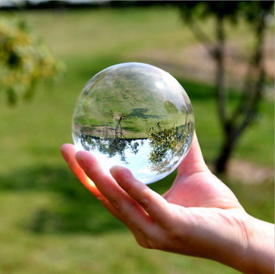 $9.30 • Buy 60mm Photography Crystal Ball Sphere Decoration Lens Photo Prop Lensball Clear