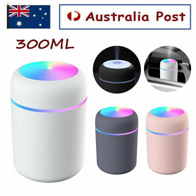 AU15.56 • Buy 300ML Electric Air Diffuser Aroma Oil Humidifier Night Light Up Difuser Home AU