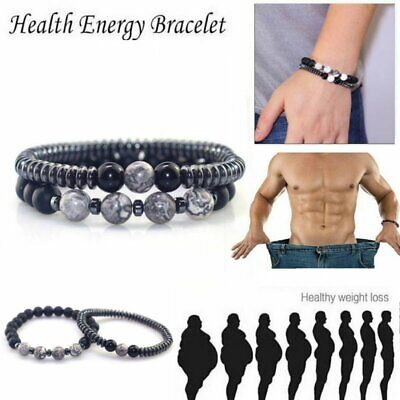£2.79 • Buy 2020Magnetic Healing Therapy Bracelet Arthritis Hematite Weight Loss Pain Relief