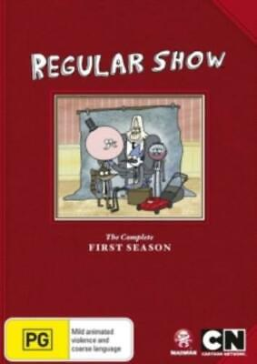 REGULAR SHOW - SEASON 1 +Region 4 DVD+ • 17.19£