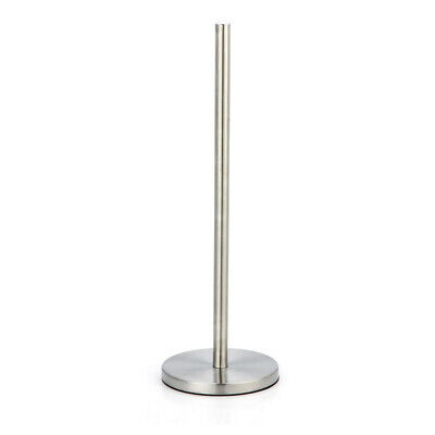 £6.95 • Buy Free Standing Brushed Chrome Effect Toilet Roll Holder Spike Bathroom Accessory