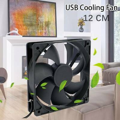 AU15.44 • Buy NEW Mini USB Desk Fan Small Quiet Personal Cooler USB Powered Portable Table Fan