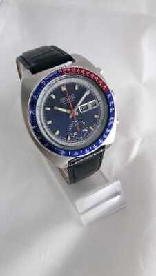 $ CDN1054.55 • Buy VINTAGE SEIKO CHRONOGRAPH AUTOMATIC Day-Date 6139-6002 Japan Made  BLUE DIAL