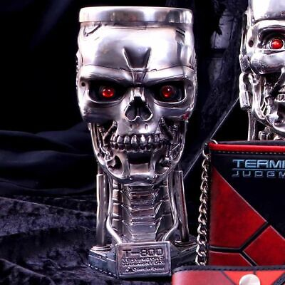 £24.95 • Buy T-800 Terminator 2 Judgement Day Head Goblet By Nemesis Now - Licensed