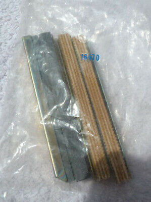 """Made in USA 16000 Hone Lisle 16390 280 Grit STONE SETS 2.05-2.50/"""" 52-63.5mm"""