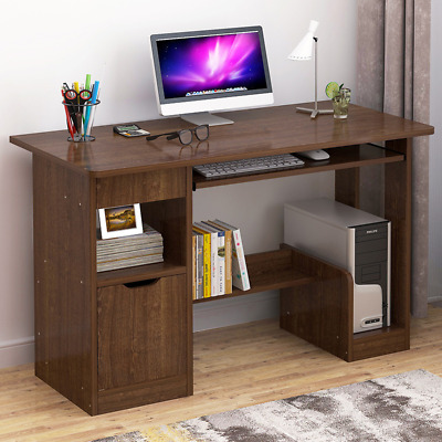 SMALL Computer Desk Drawer Study Laptop PC Table Home Office Workstation Corner • 65.99£