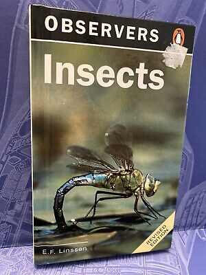 £4.99 • Buy Observers Book Of Insects 1996 Vintage Book PRINT ERROR PRINTED UPSIDE DOWN