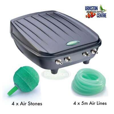 £51.99 • Buy Blagdon Four Outlet Pond Oxygenator Kit Weatherproof Air Pump Fish Airstone