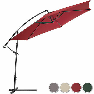 £73.95 • Buy 3.5m Cantilever Garden Balcony Parasol + UV Protection + Stand + Cover New New