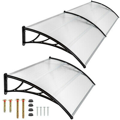 £78.75 • Buy Front Door Canopy Porch Rain Protector Awning Lean-to Roof Shelter New