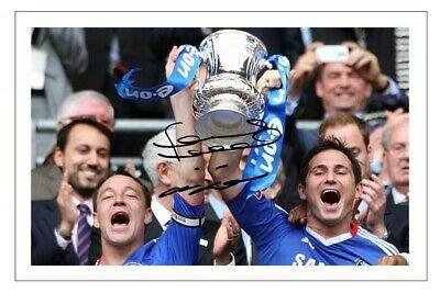 £1.89 • Buy JOHN TERRY & FRANK LAMPARD Signed Autograph PHOTO Signature Gift Print CHELSEA