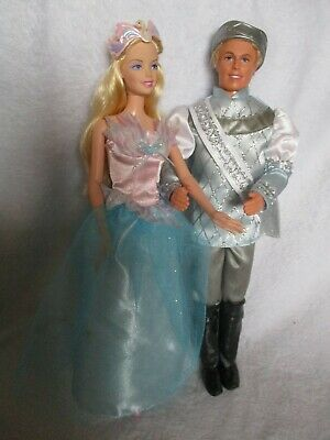 Barbie Doll Swan Lake Princess Odette And Prince Daniel • 19.99£