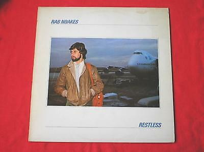 Rab Noakes Restless LP Ring O'Records Deluxe 2339201 EX/VG 1978 With Inner Sleev • 77.50£