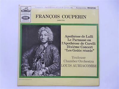 Louis Auriacombe Francois Couperin LP HMV ALP2080 EX/VG 1964 Nipper The Dog Semi • 9£