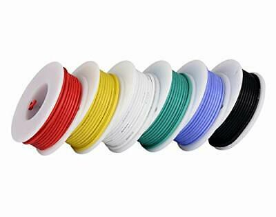 20awg Stranded Wire Electronics Colored Wire Kit 0.52mm² Flexible Silicone Wire • 19.02£