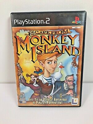 Escape From Monkey Island Playstation 2 (PS2) • 3.99£