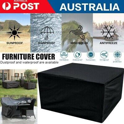 AU17.65 • Buy IN/Outdoor Furniture Cover UV Waterproof Garden Patio Table Shelter Chair Sofa