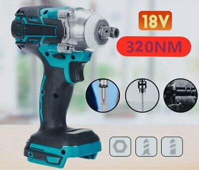 Torque Impact Wrench Brushless Cordless Replacement For Makita DTW285Z Battery • 23.97£
