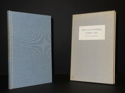£35 • Buy W.H. HUDSON Letters On The Ornithology Of Buenos Ayres 1951 1st Ed Aries SIGNED